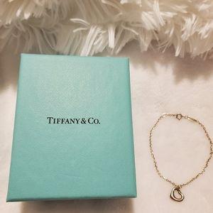 Tiffany's Elsa Peretti open heart bracelet